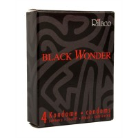 Amor Condoms Black Wonder