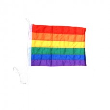 Small Stitched Rainbow-flag