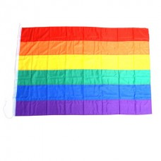 Rainbow Pride Flag Stitched