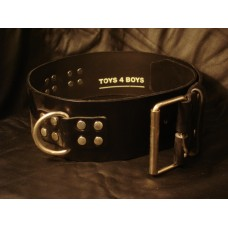80mm Leather Bondage Belt