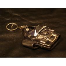 Leather Jacket Keyring