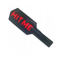 Leather HIT ME paddle