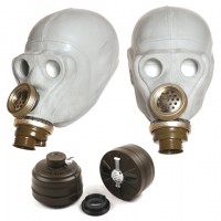 Grey Gas-Mask
