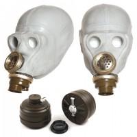 Grey Gas-Mask