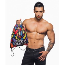 Andrew Christian Rainbow Condom Backpack
