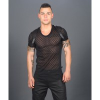 Andrew Christian Hard Burnout Harness Tee