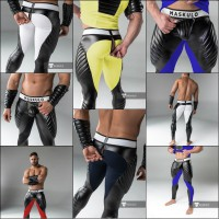 Maskulo Kinky Zip Leggings