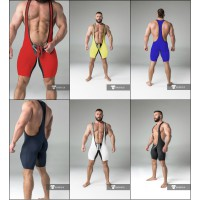 Wrestling Singlet with Codpiece