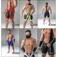 American Football Singlet with Codpiece