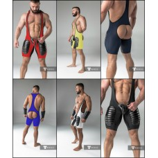 Backless American Football Singlet with Codpiece