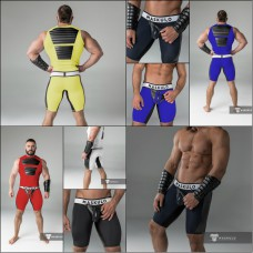 Maskulo Codpiece Muscle Shorts