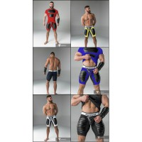 Maskulo American Football Shorts with Codpiece