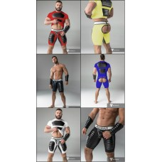 Maskulo American Football Jock Shorts with Codpiece