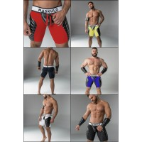 Maskulo padded Muscle Shorts with Codpiece