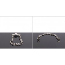 Magnetic Nipple Pinchers with polished chain