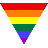Rainbow Triangle Sticker