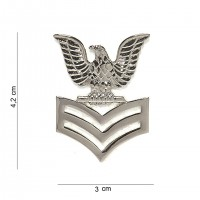 Badge US navy stripes