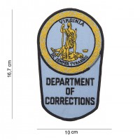 Patch department of corrections Virginia