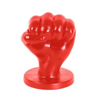 All Red Fist Large
