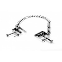Nipple Crusher Clamps with chain