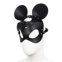 Black Mousse Leather  Mask