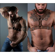 Menelau Harness (Brown)