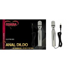 Rimba Electro anal dildo, bi polar (155 mm)