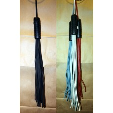 Deluxe Leather Whip/ Flog