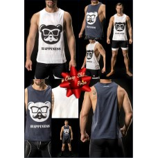 Barcode Happy Bear Tank Top