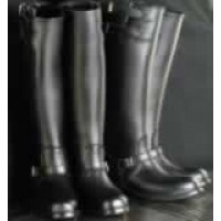 Buckled Motorcycle  Boots