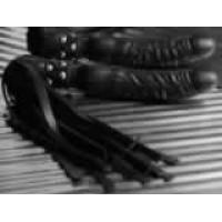 Studded Dildo Handle Whip