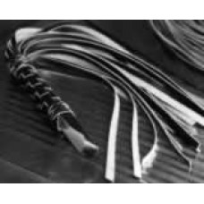 Braided Handle Whip (with wide lashes)